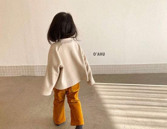 O'AHU - Korean Children Fashion - #Kfashion4kids - Thick Peach Turtleneck Tee - 7