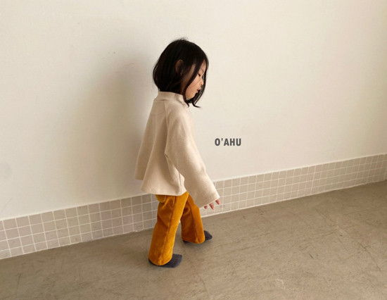 O'AHU - Korean Children Fashion - #Kfashion4kids - Thick Peach Turtleneck Tee - 9