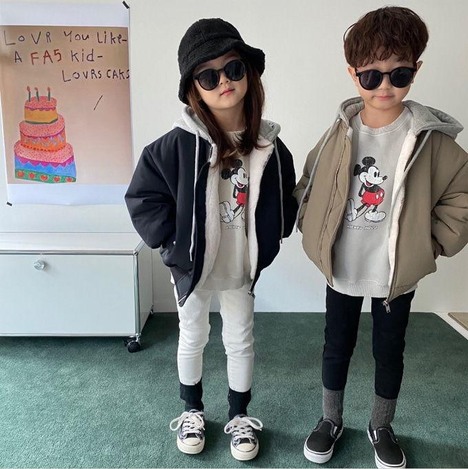 OUR - BRAND - Korean Children Fashion - #Kfashion4kids - Hood Air Blouson