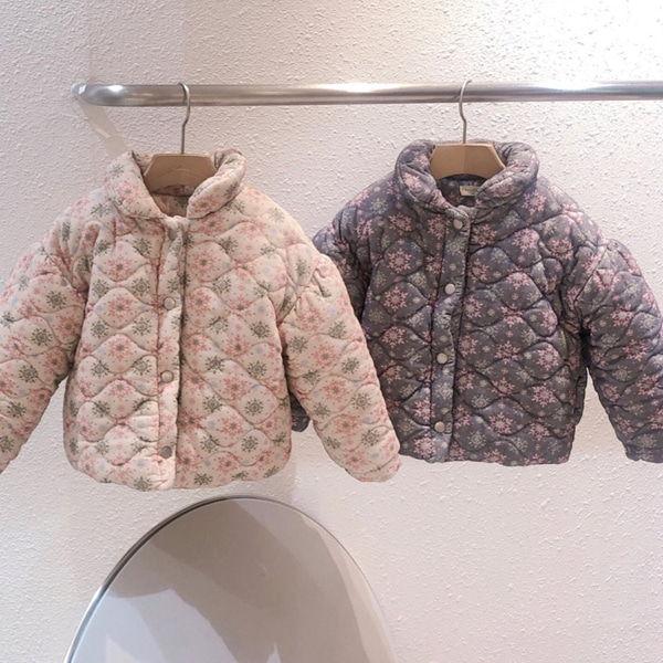 STUDIO M - BRAND - Korean Children Fashion - #Kfashion4kids - Floral Quilting Jacket