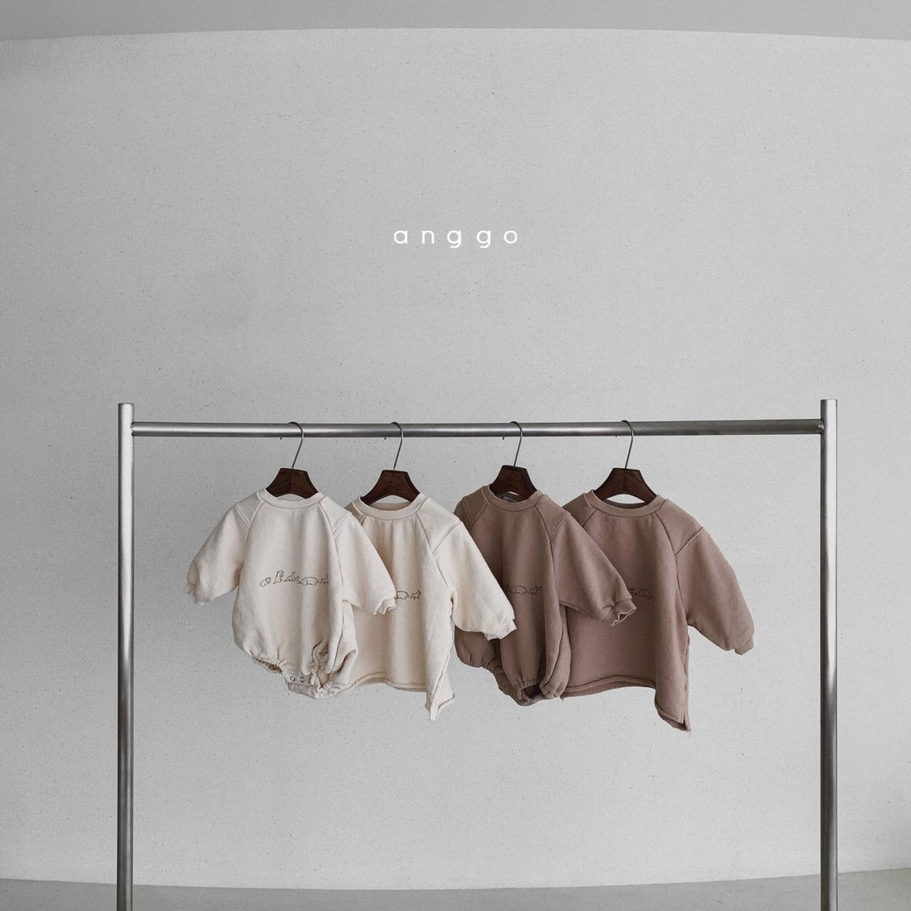 ANGGO - Korean Children Fashion - #Kfashion4kids - Bebe Dino Bodysuit