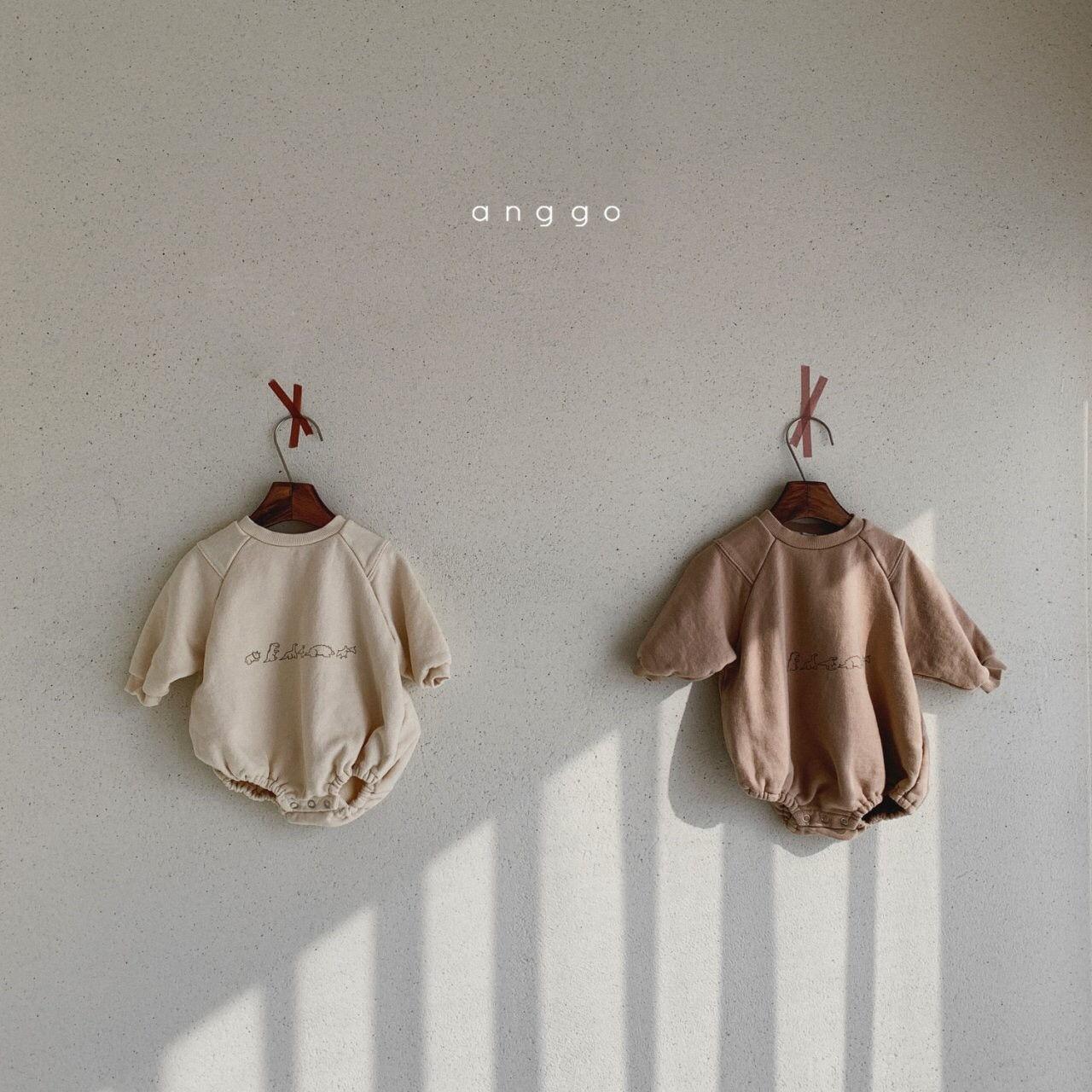 ANGGO - Korean Children Fashion - #Kfashion4kids - Bebe Dino Bodysuit - 3