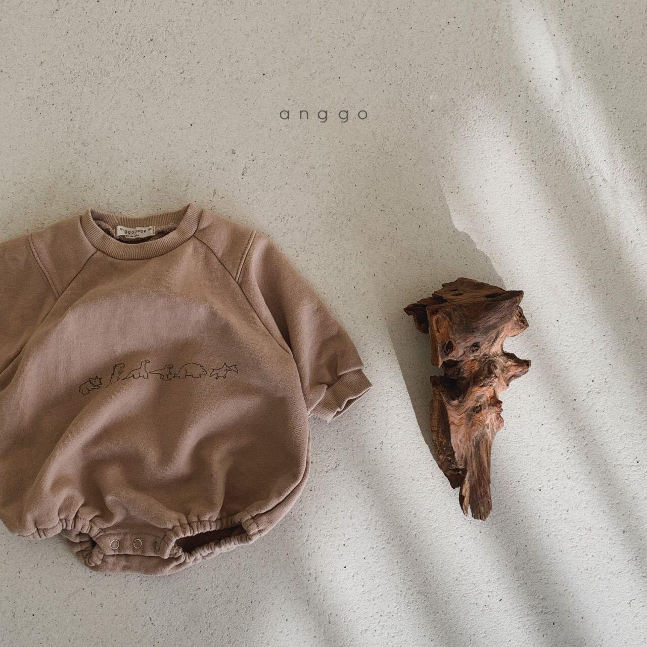 ANGGO - Korean Children Fashion - #Kfashion4kids - Bebe Dino Bodysuit - 8