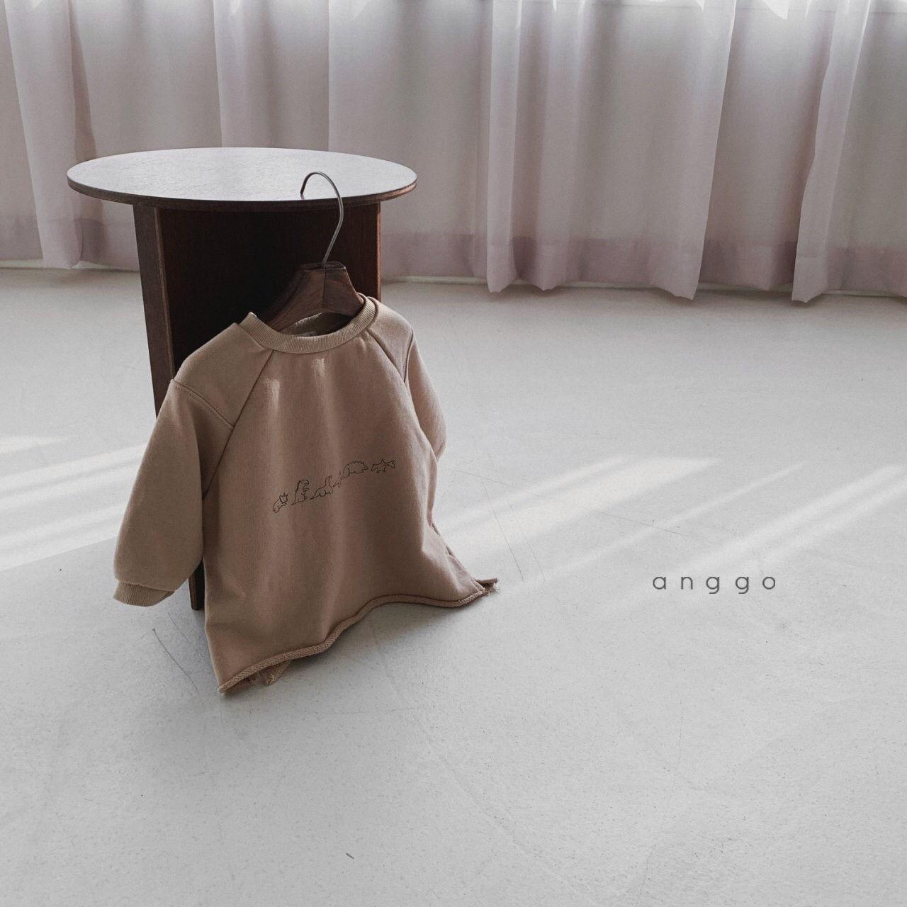 ANGGO - Korean Children Fashion - #Kfashion4kids - Dino Sweatshirt - 3
