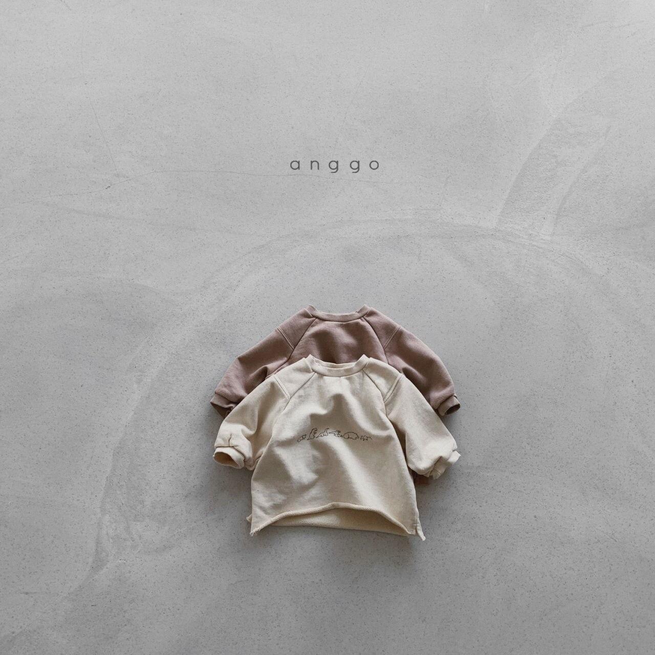 ANGGO - Korean Children Fashion - #Kfashion4kids - Dino Sweatshirt - 6