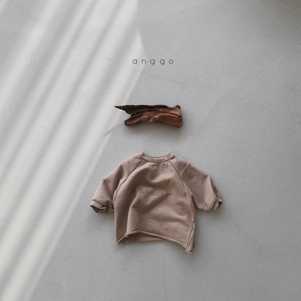 ANGGO - Korean Children Fashion - #Kfashion4kids - Dino Sweatshirt - 7