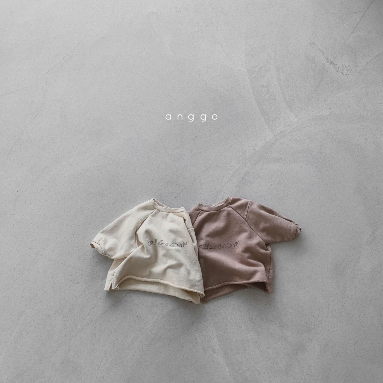 ANGGO - Korean Children Fashion - #Kfashion4kids - Dino Sweatshirt - 8