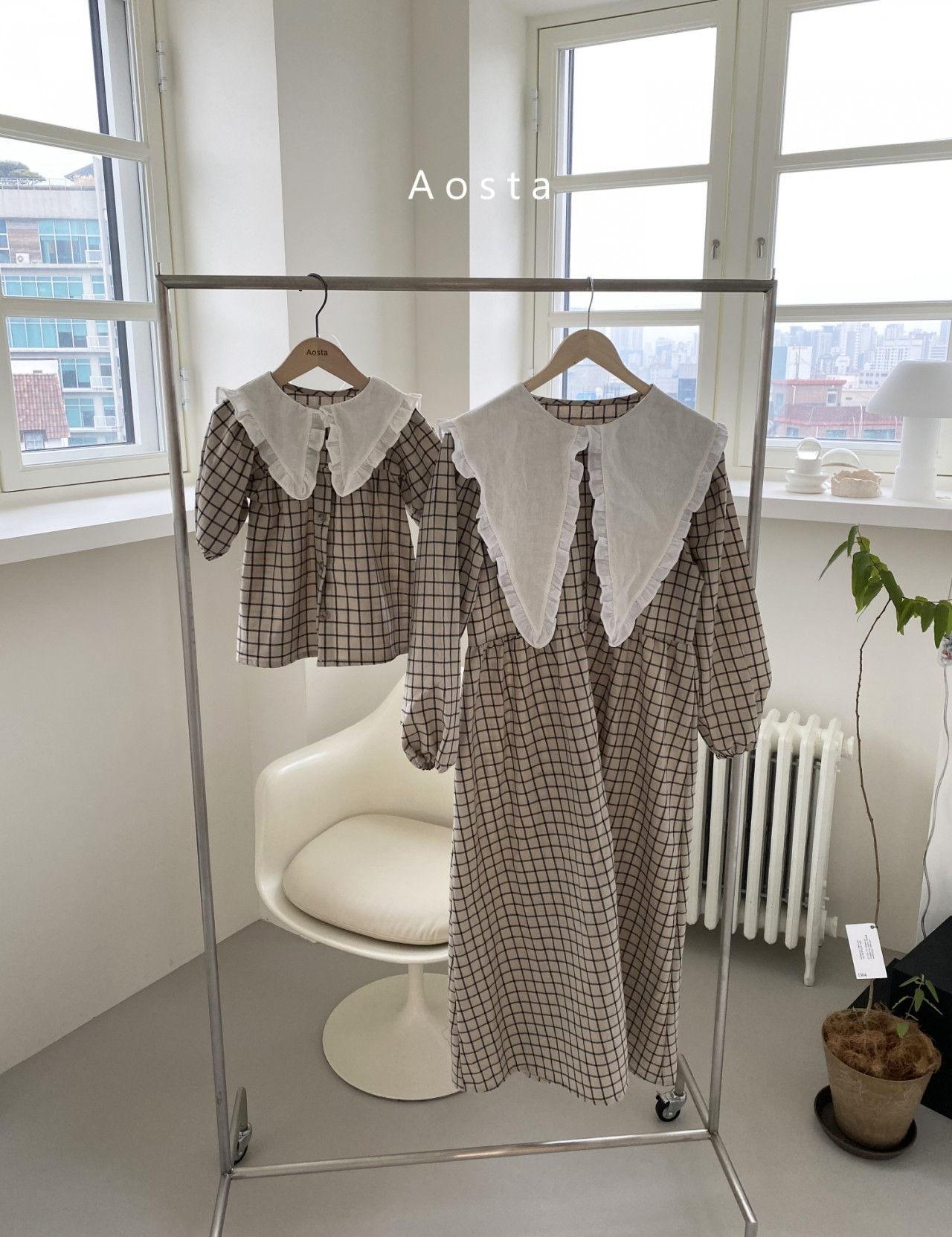 AOSTA - Korean Children Fashion - #Kfashion4kids - Bask Collar One-piece - 11
