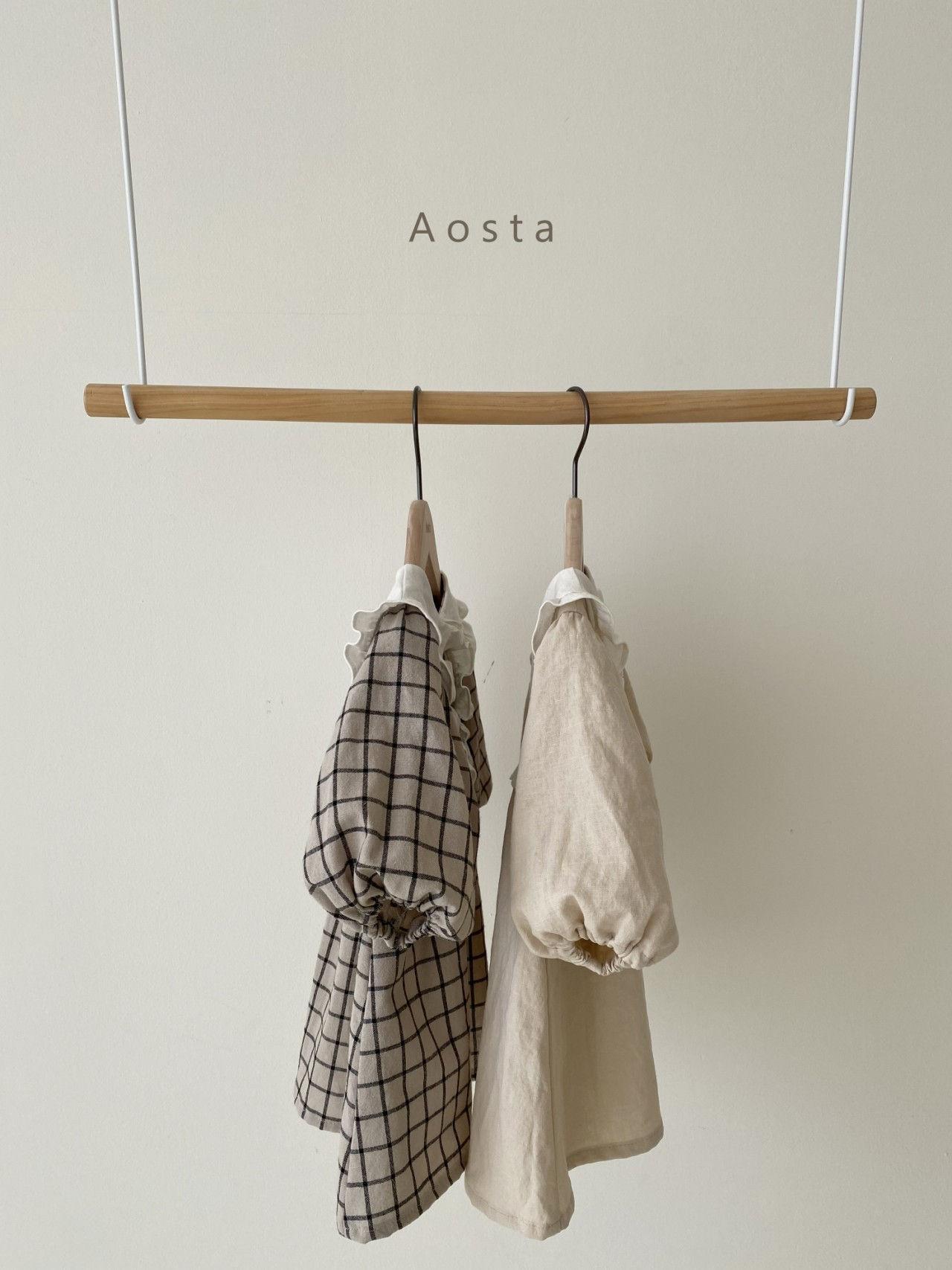 AOSTA - Korean Children Fashion - #Kfashion4kids - Bask Collar One-piece - 2