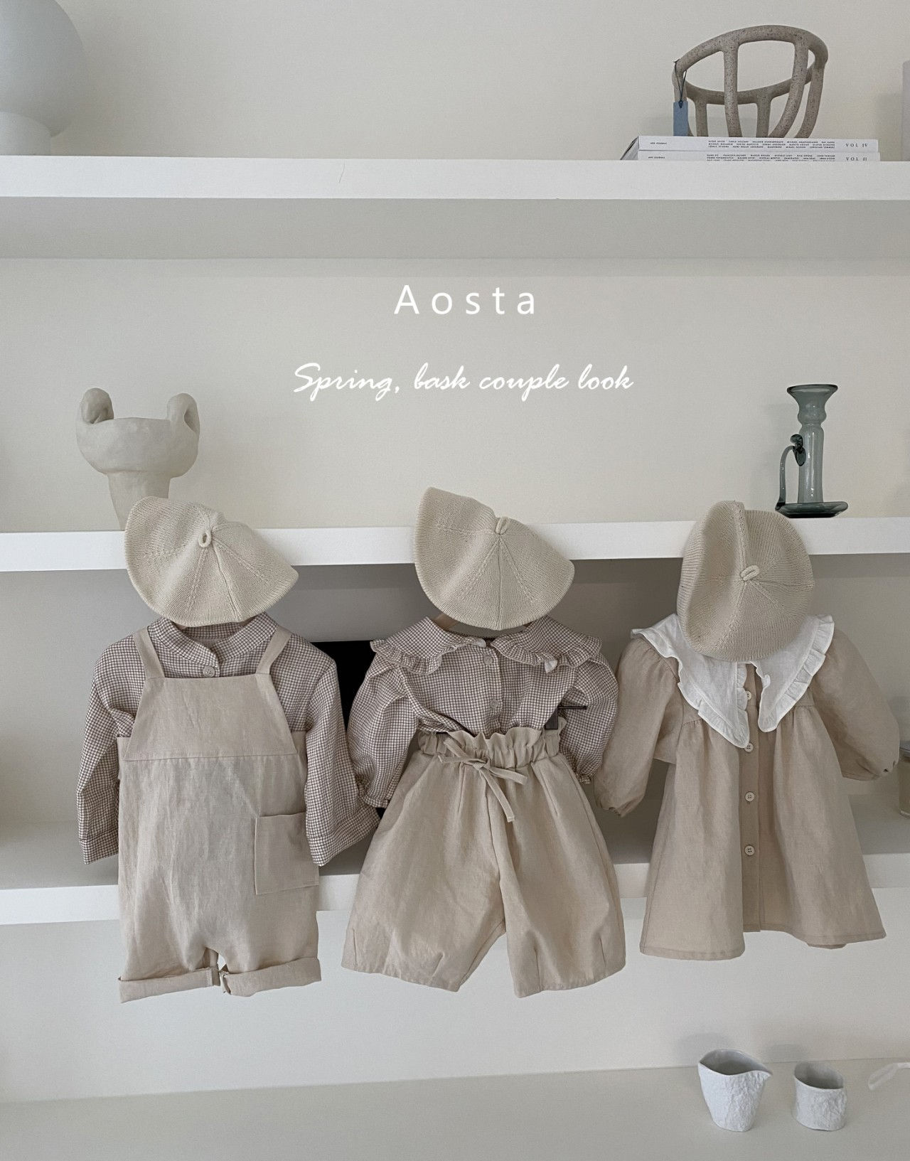 AOSTA - Korean Children Fashion - #Kfashion4kids - Bask Collar One-piece - 6