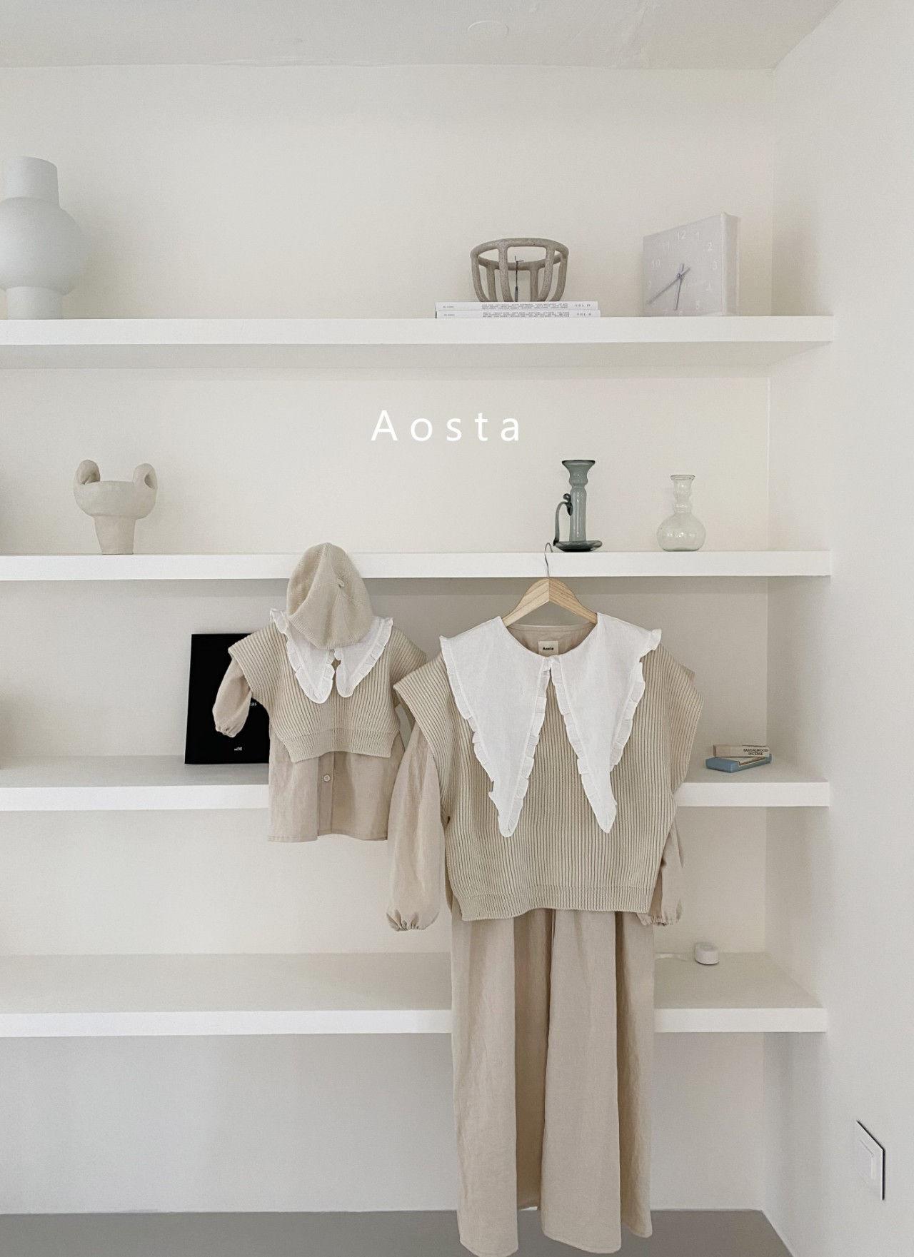 AOSTA - Korean Children Fashion - #Kfashion4kids - Bask Collar One-piece - 8