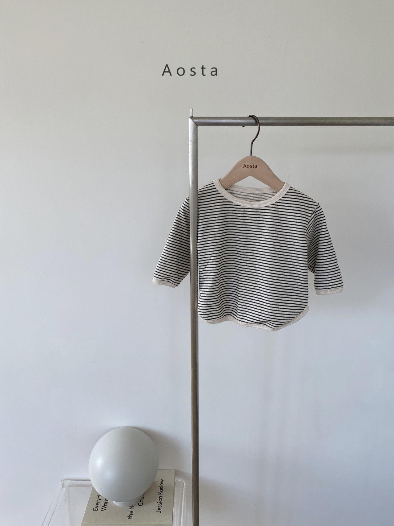 AOSTA - Korean Children Fashion - #Kfashion4kids - Round Tee - 2
