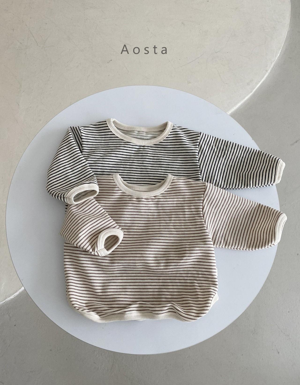 AOSTA - BRAND - Korean Children Fashion - #Kfashion4kids - Round Tee