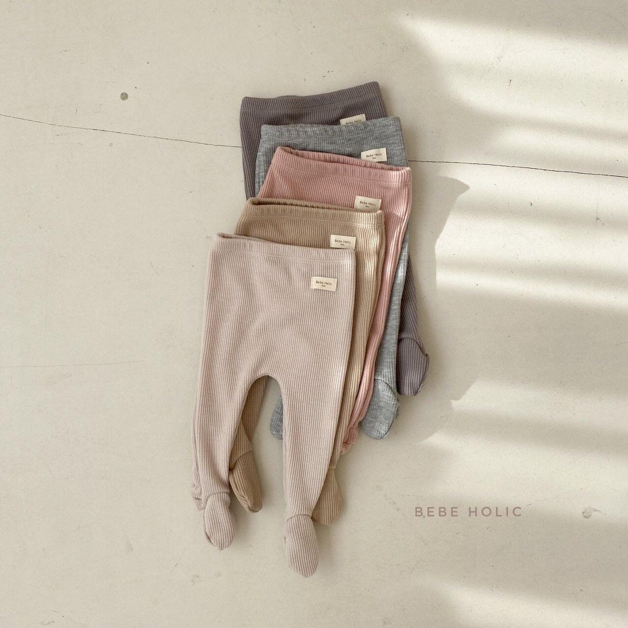 BEBE HOLIC - Korean Children Fashion - #Kfashion4kids - Vera Foot Leggings - 4