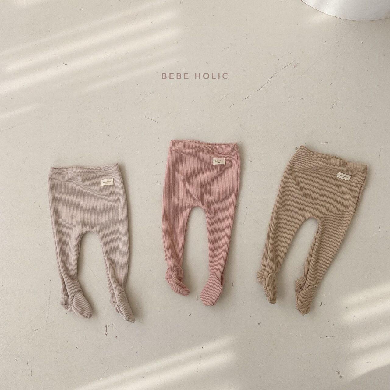 BEBE HOLIC - Korean Children Fashion - #Kfashion4kids - Vera Foot Leggings - 8