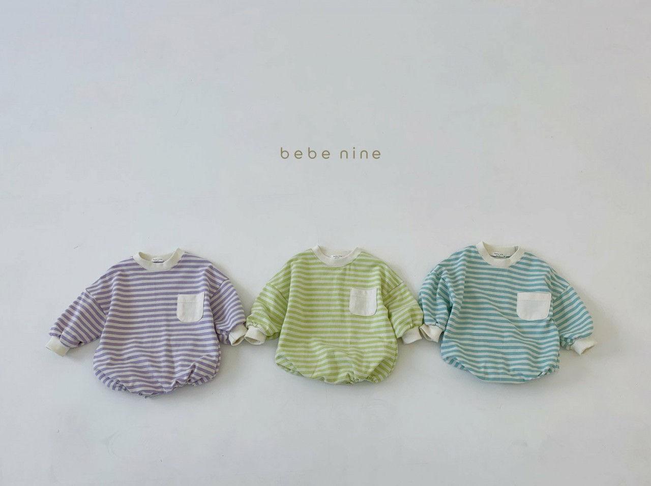 BEBE NINE - Korean Children Fashion - #Kfashion4kids - Candy Stripe Bodysuit - 3