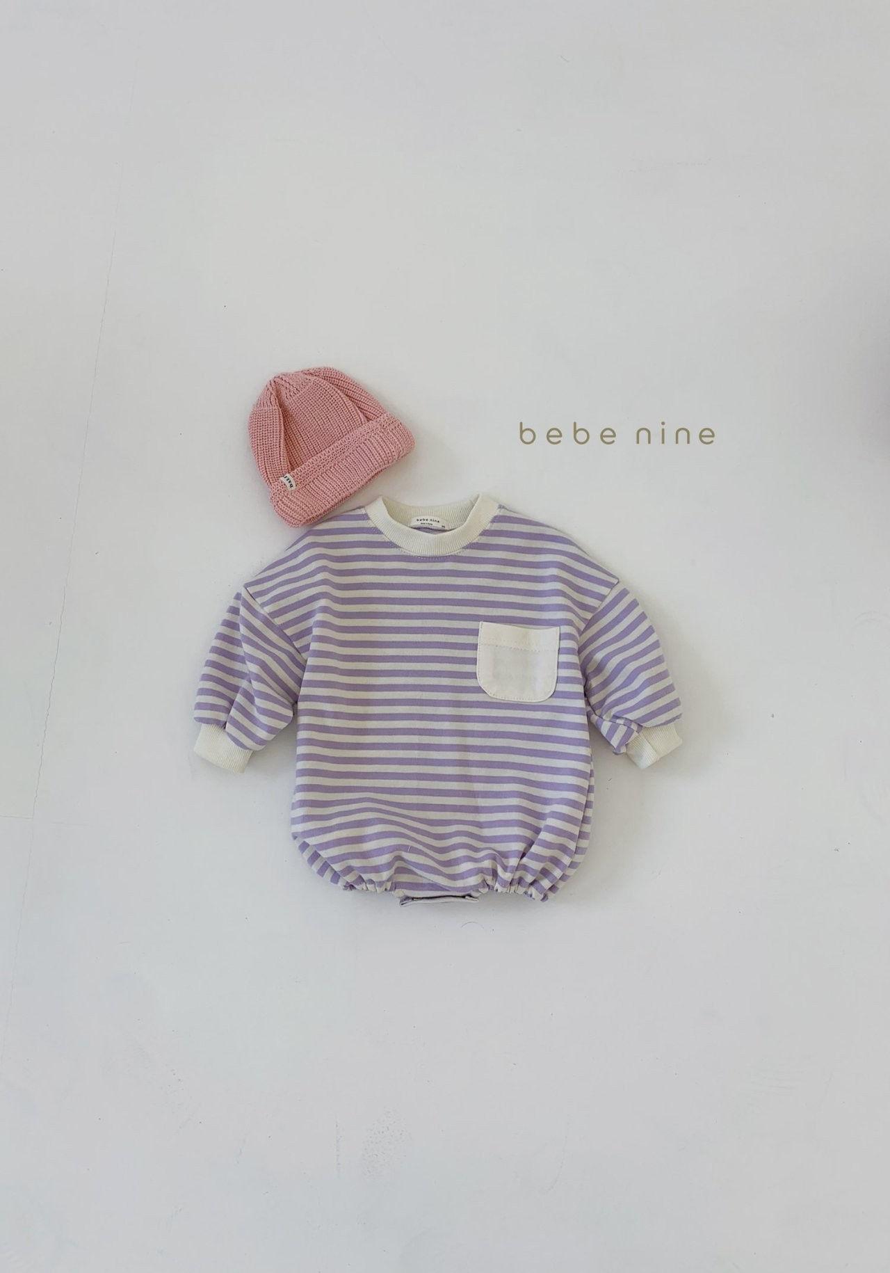 BEBE NINE - Korean Children Fashion - #Kfashion4kids - Candy Stripe Bodysuit - 7