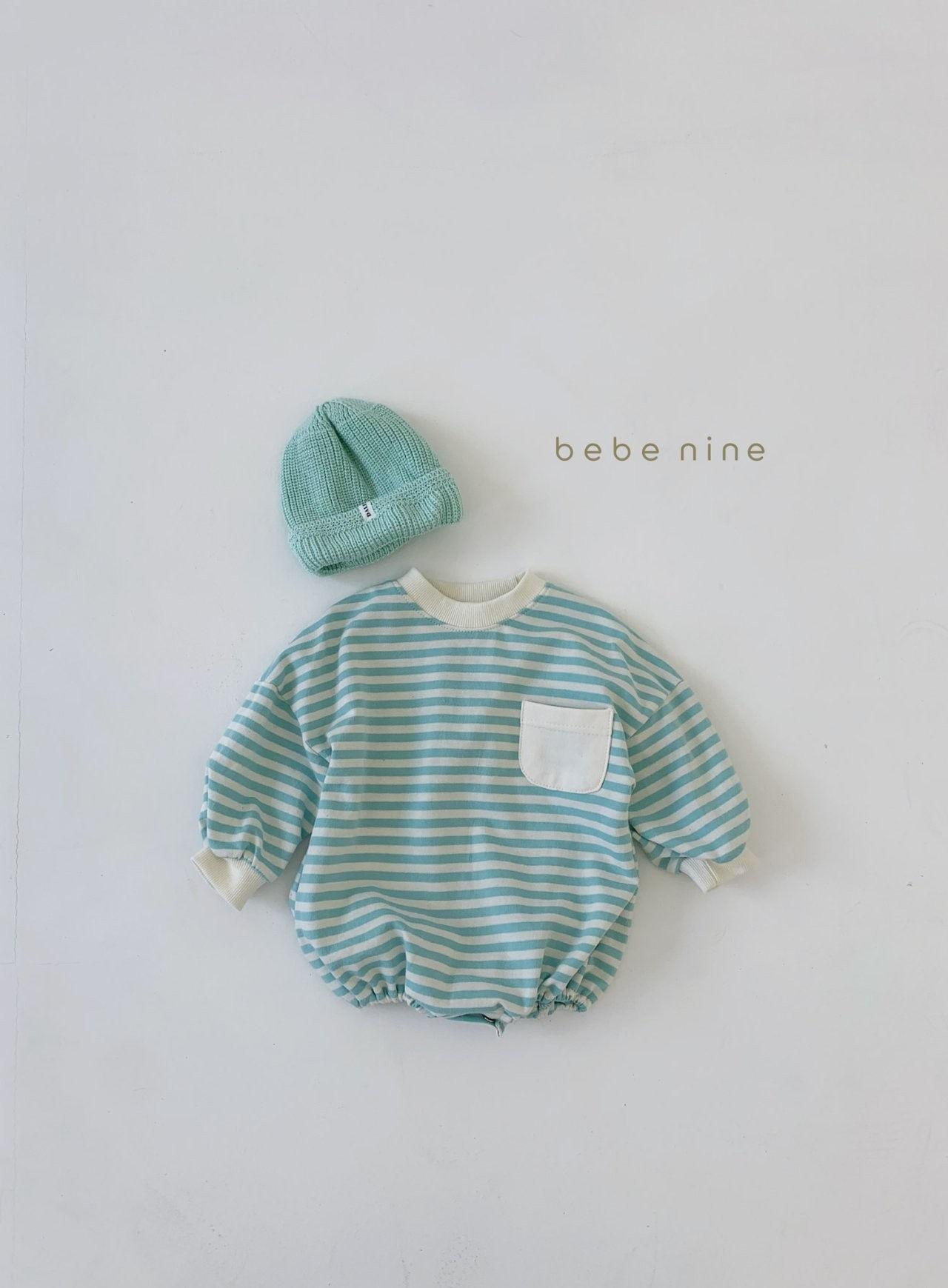 BEBE NINE - Korean Children Fashion - #Kfashion4kids - Candy Stripe Bodysuit - 8