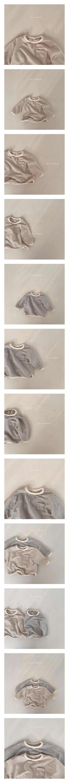 BELLA BAMBINA - Korean Children Fashion - #Kfashion4kids - Bebe Stripe Bambam Piping Tee