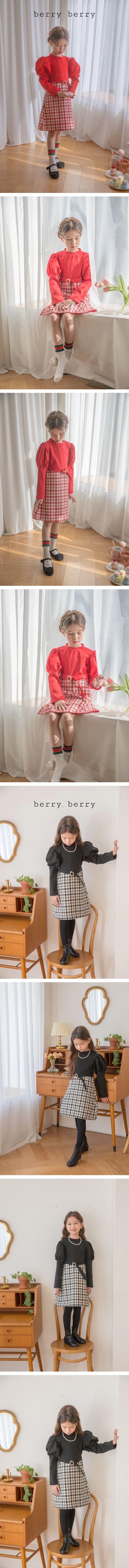 BERRY BERRY - Korean Children Fashion - #Kfashion4kids - Kkambong One-piece