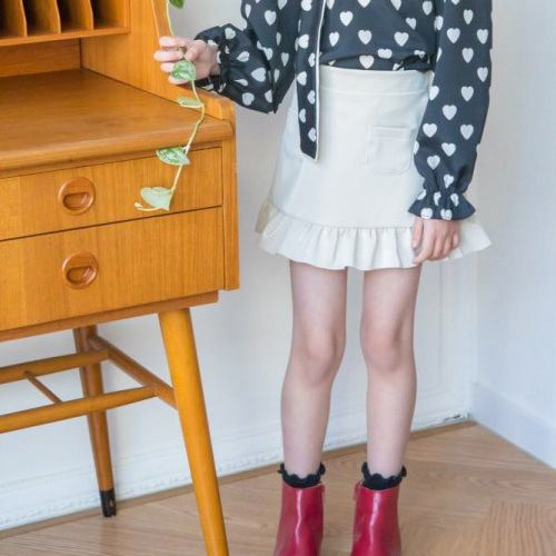 BERRY BERRY - BRAND - Korean Children Fashion - #Kfashion4kids - Melting Skirt