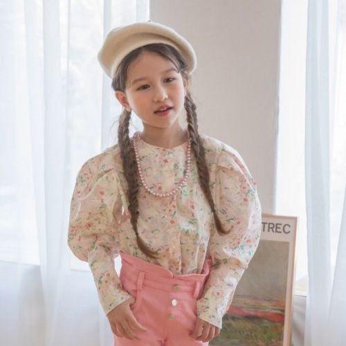 BERRY BERRY - BRAND - Korean Children Fashion - #Kfashion4kids - Ari Blouse