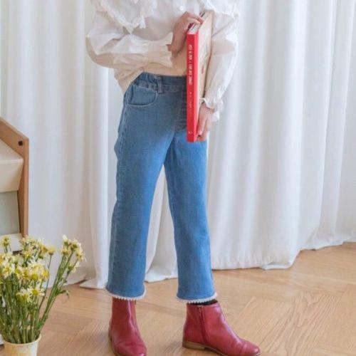 BERRY BERRY - BRAND - Korean Children Fashion - #Kfashion4kids - Pearl Denim Pants