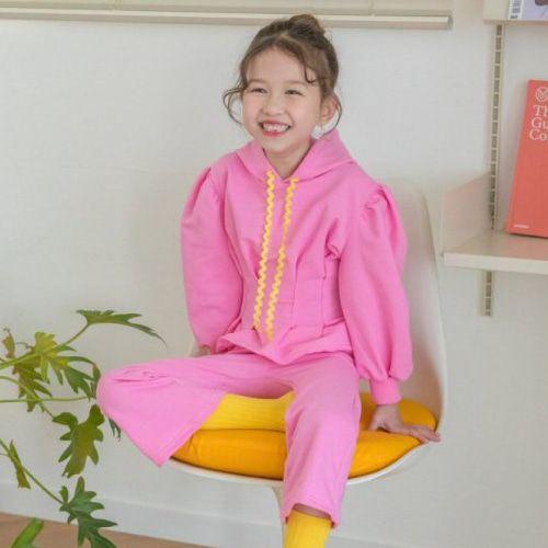 BERRY BERRY - BRAND - Korean Children Fashion - #Kfashion4kids - Pintuck Top Bottom Set