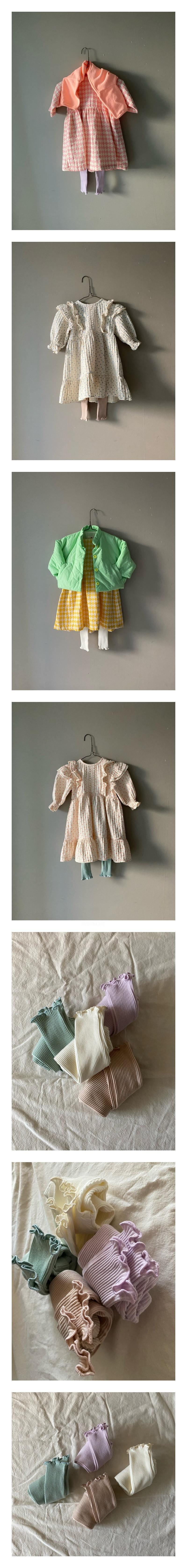 BON BON BUTIK - Korean Children Fashion - #Kfashion4kids - Spring Wave Leggings
