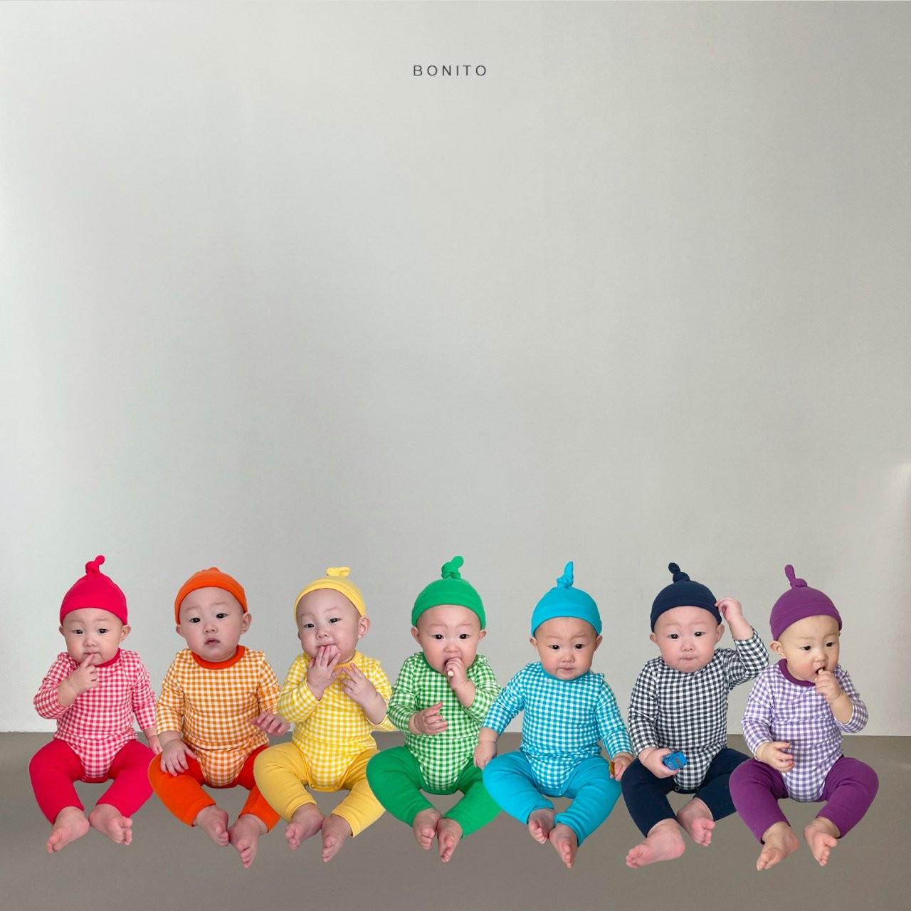 BONITO - Korean Children Fashion - #Kfashion4kids - Rainbow Romper with Leggings