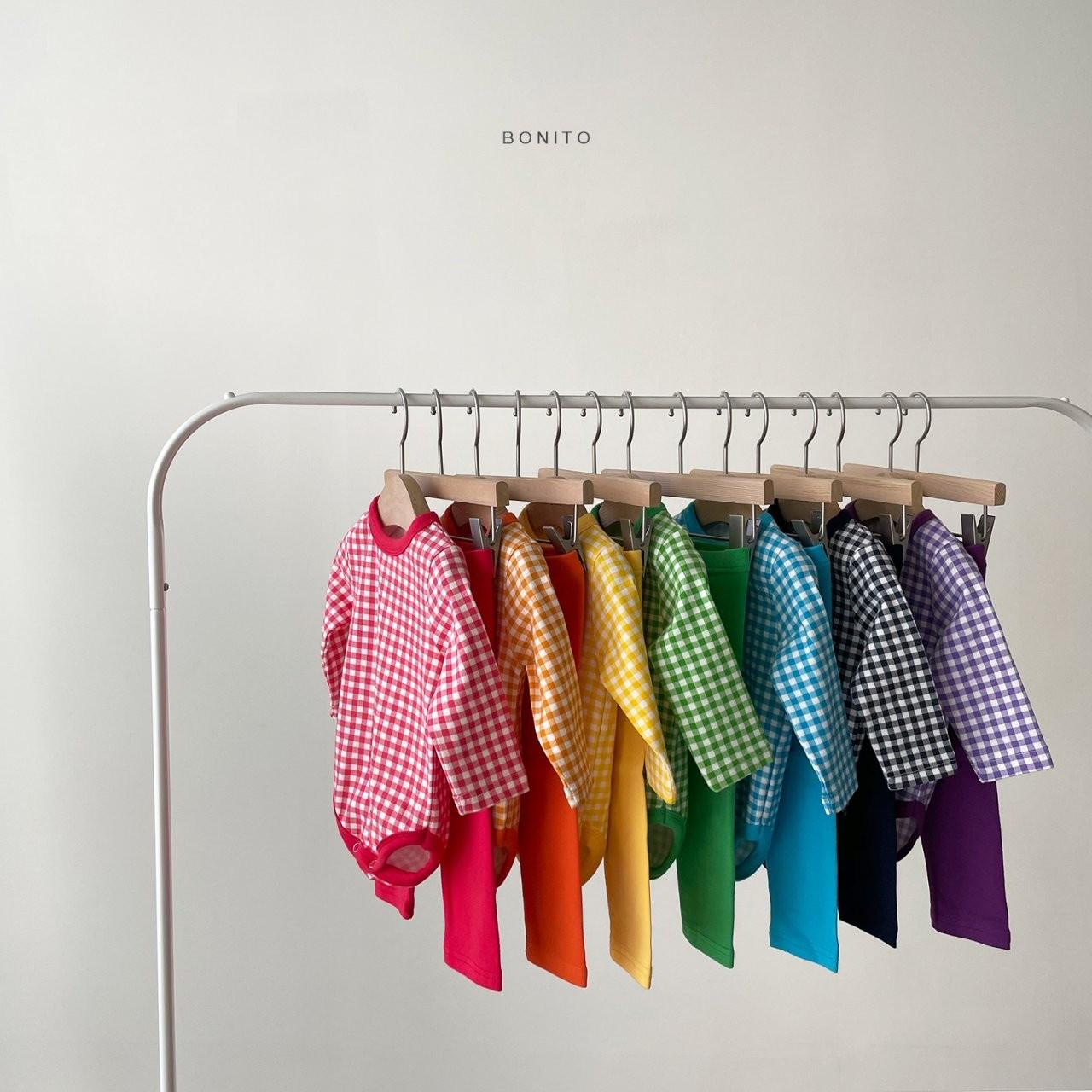 BONITO - Korean Children Fashion - #Kfashion4kids - Rainbow Romper with Leggings - 11