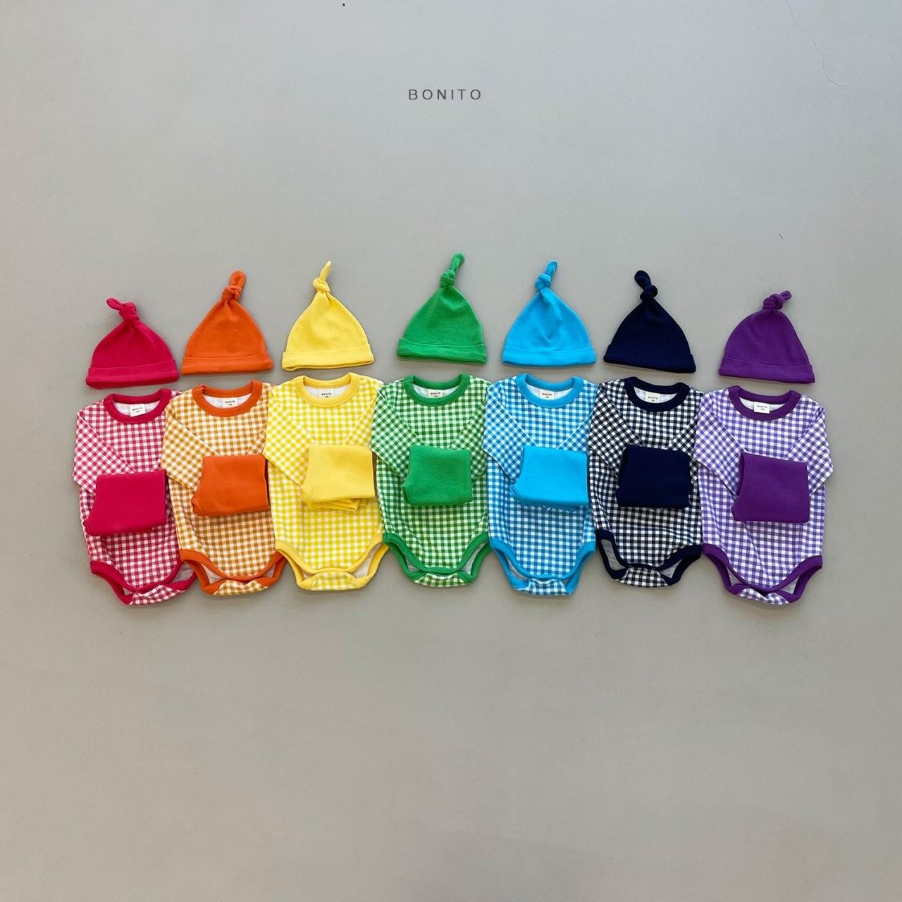 BONITO - Korean Children Fashion - #Kfashion4kids - Rainbow Romper with Leggings - 12