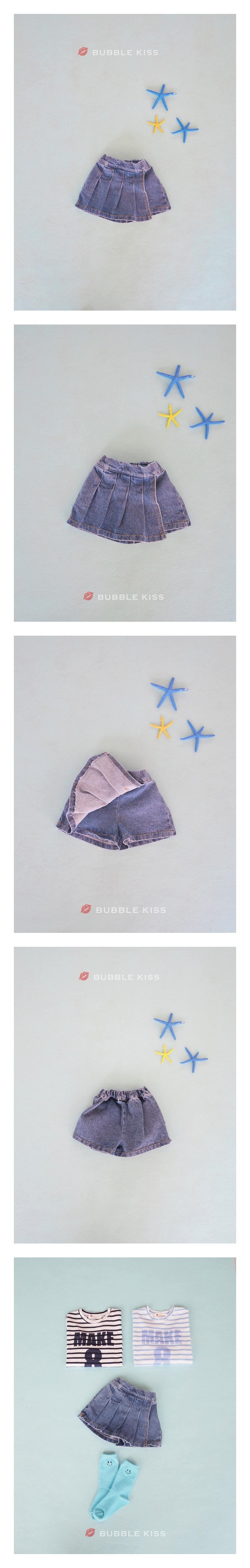 BUBBLE KISS - Korean Children Fashion - #Kfashion4kids - Accordion Wrap Short Pants