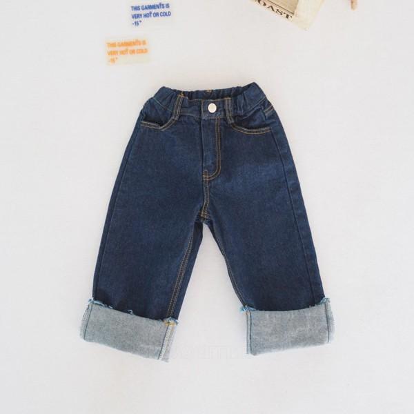 BUBBLE KISS - BRAND - Korean Children Fashion - #Kfashion4kids - Natural Denim Pants