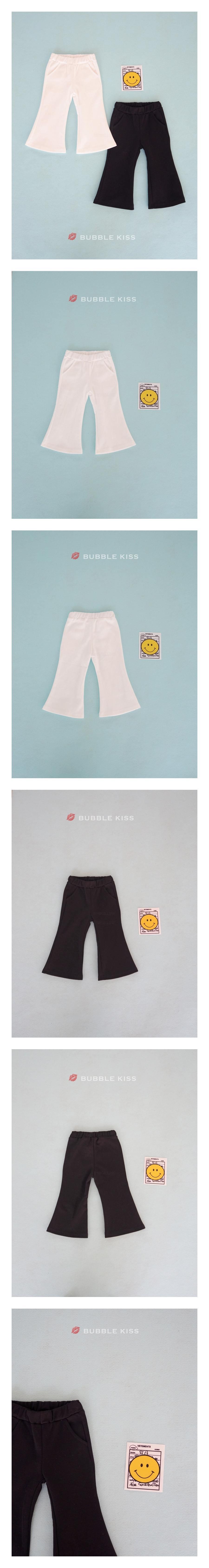 BUBBLE KISS - Korean Children Fashion - #Kfashion4kids - Bootscuts Pants