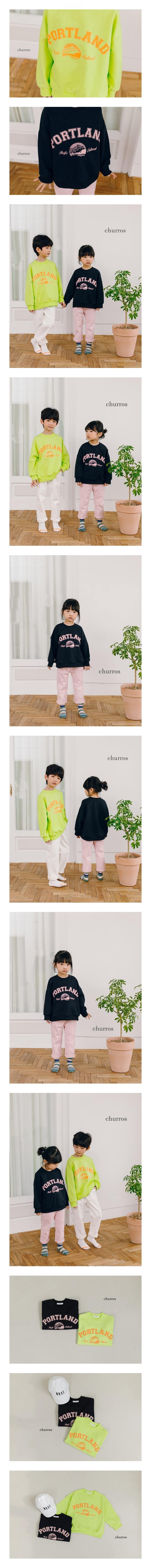 CHURROS - Korean Children Fashion - #Kfashion4kids - Portland Sweatshirt