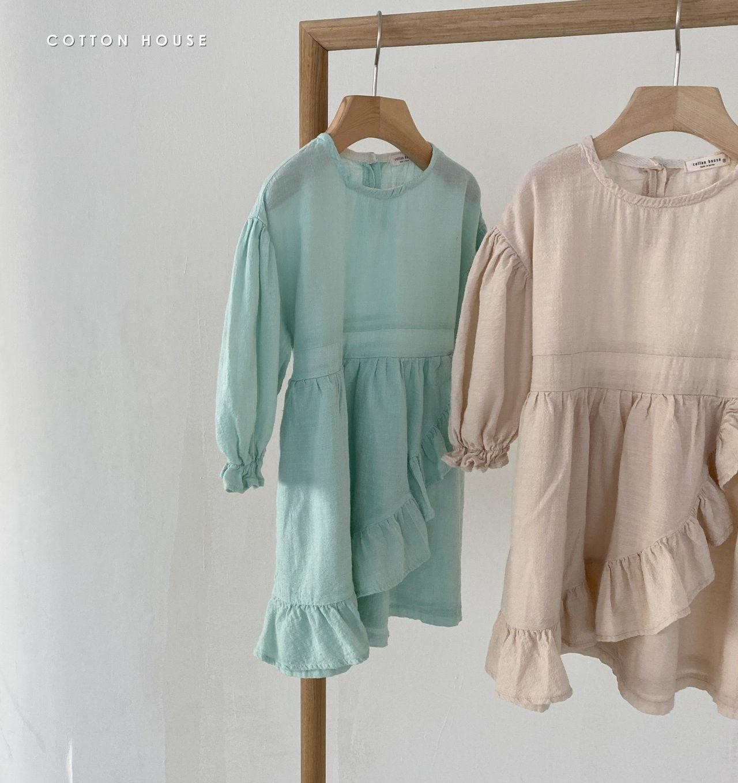 COTTON HOUSE - Korean Children Fashion - #Kfashion4kids - Frill One-piece - 11