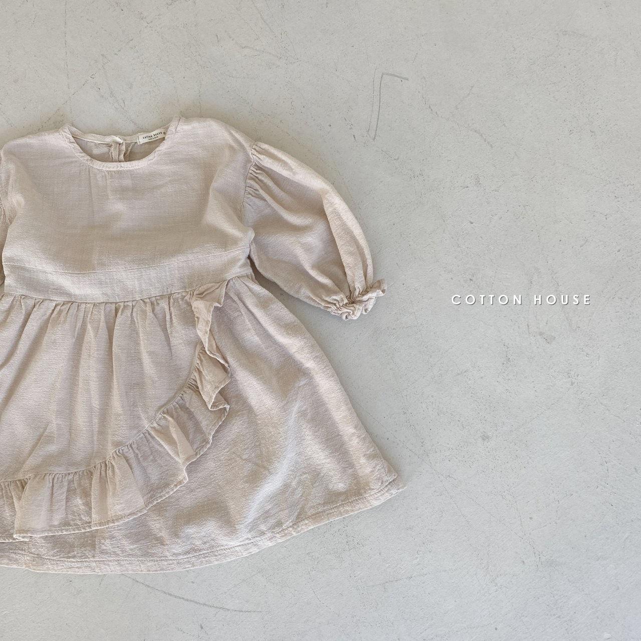 COTTON HOUSE - Korean Children Fashion - #Kfashion4kids - Frill One-piece - 4