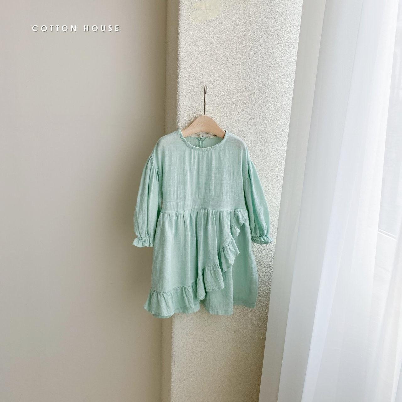 COTTON HOUSE - Korean Children Fashion - #Kfashion4kids - Frill One-piece - 7