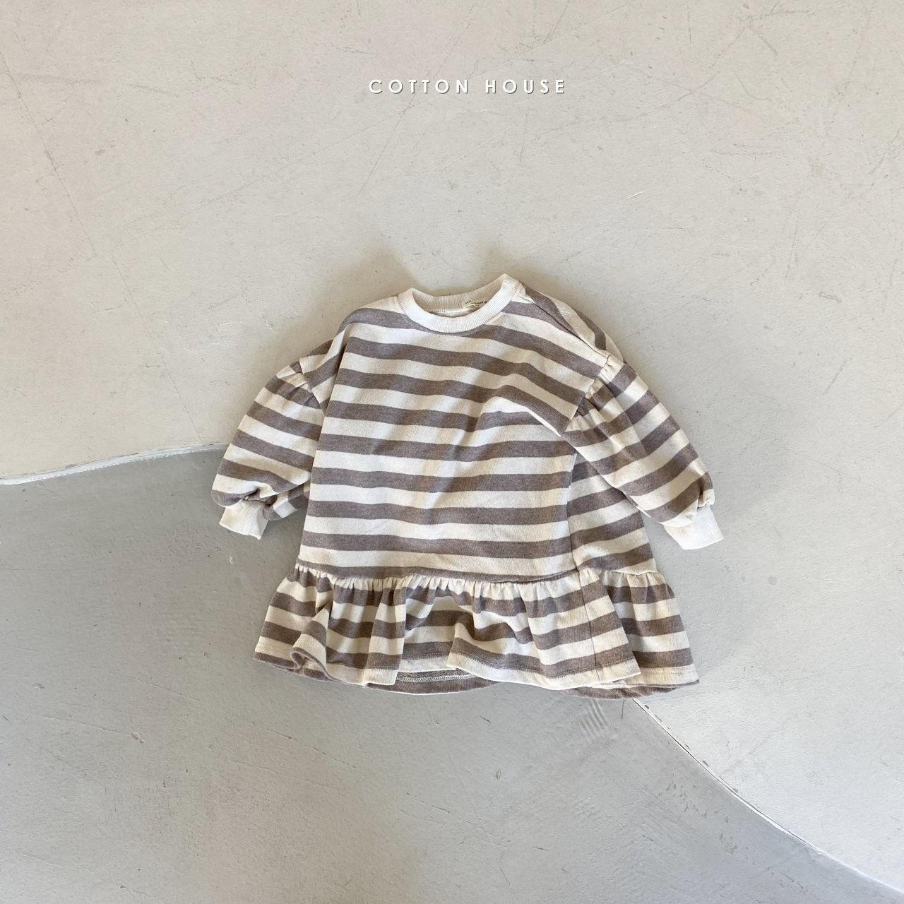 COTTON HOUSE - Korean Children Fashion - #Kfashion4kids - Shine Mini One-piece - 2