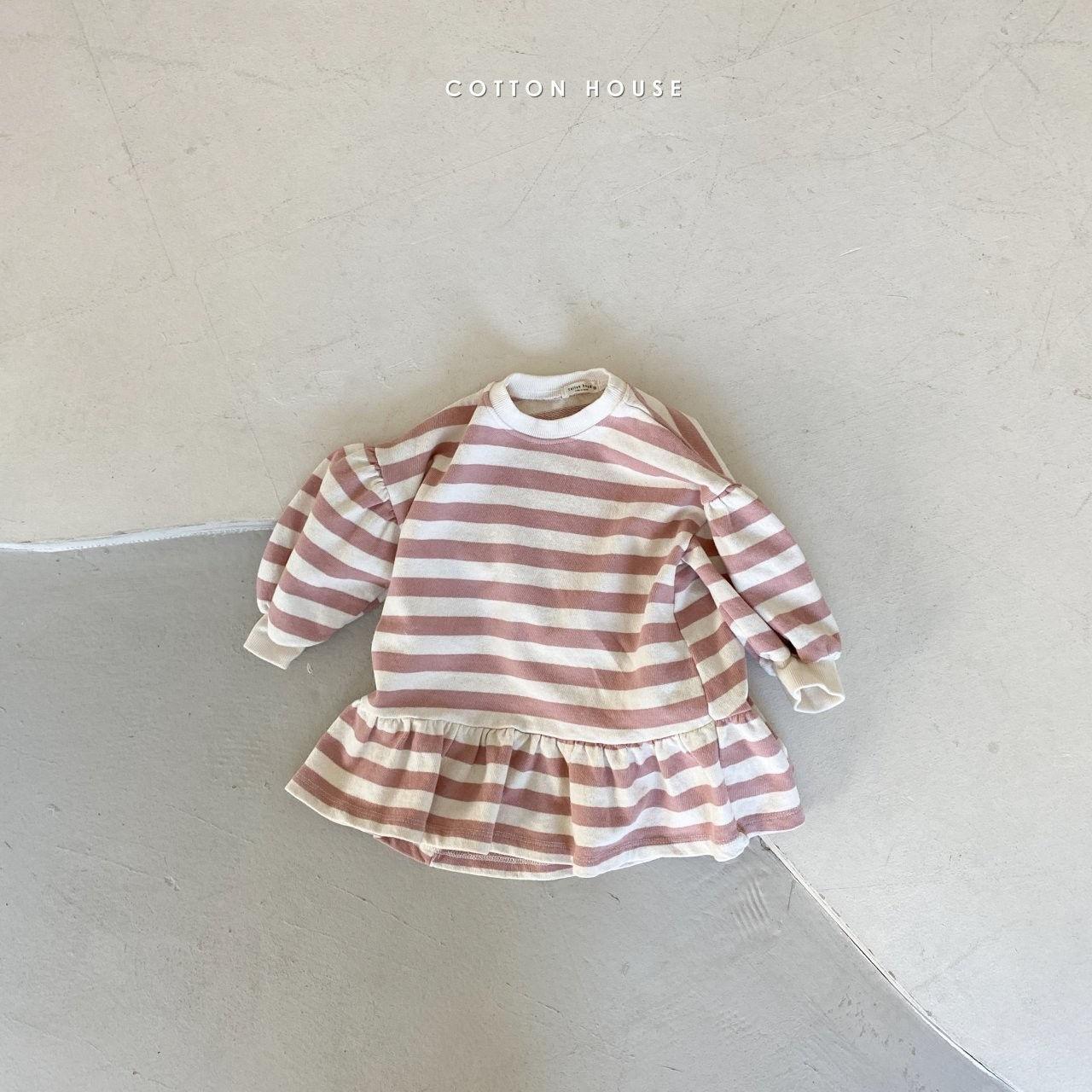 COTTON HOUSE - Korean Children Fashion - #Kfashion4kids - Shine Mini One-piece - 3