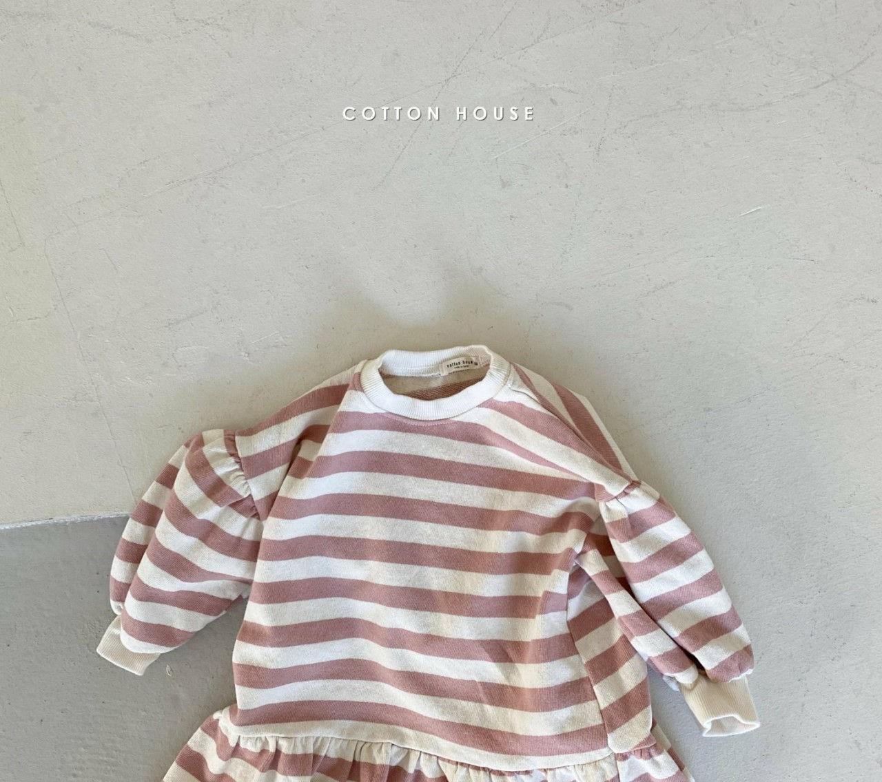 COTTON HOUSE - Korean Children Fashion - #Kfashion4kids - Shine Mini One-piece - 4