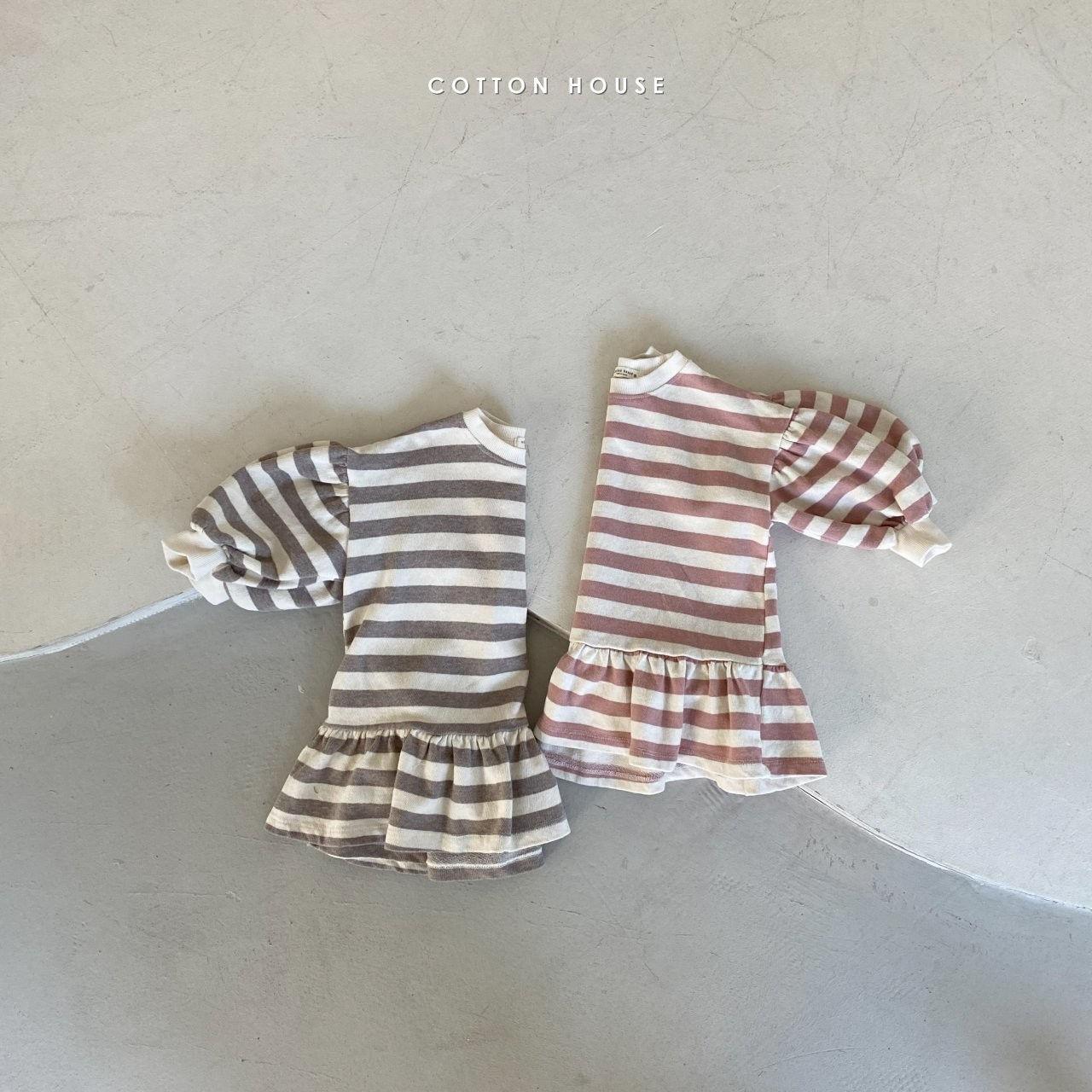 COTTON HOUSE - Korean Children Fashion - #Kfashion4kids - Shine Mini One-piece - 8