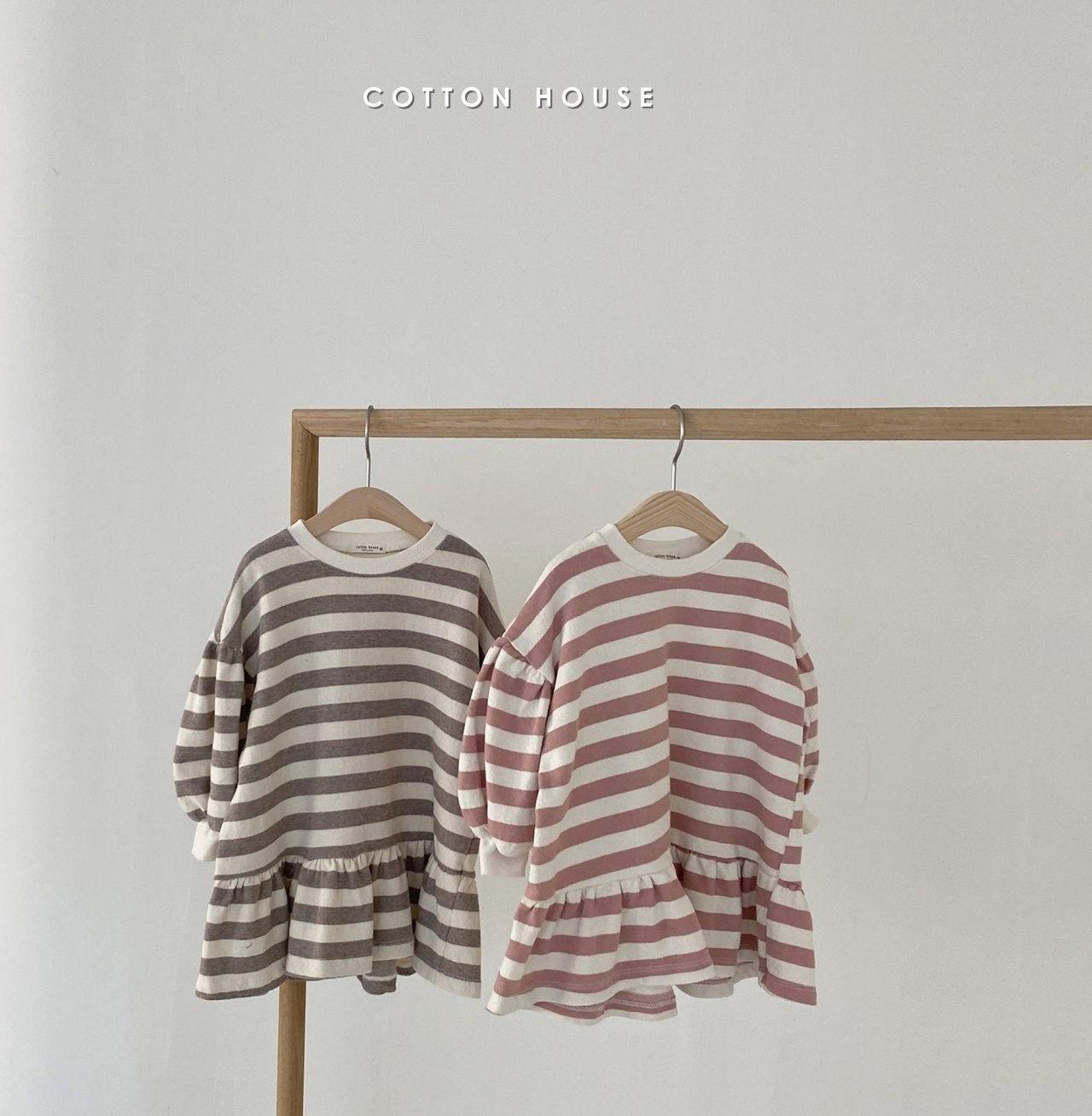 COTTON HOUSE - Korean Children Fashion - #Kfashion4kids - Shine Mini One-piece - 9