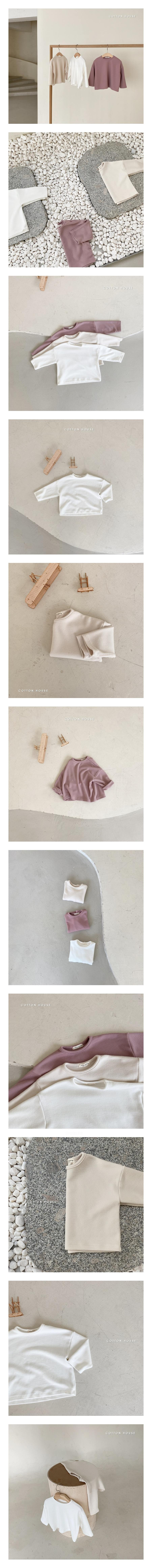 COTTON HOUSE - Korean Children Fashion - #Kfashion4kids - Basic Tee