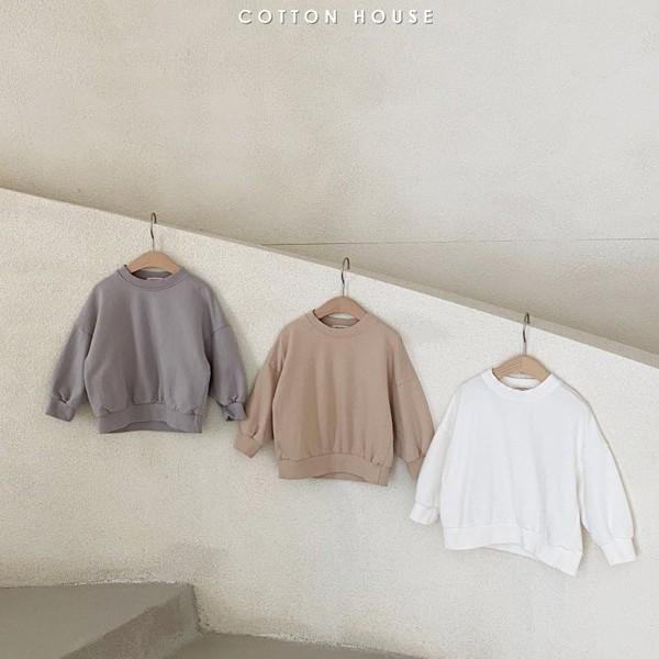 COTTON HOUSE - BRAND - Korean Children Fashion - #Kfashion4kids - Good Luck Sweatshirt