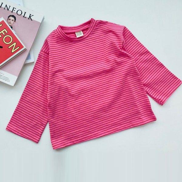 DORE DORE - BRAND - Korean Children Fashion - #Kfashion4kids - Basic Stripe Tee