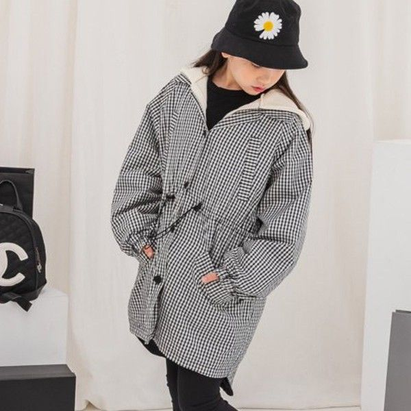 DORE DORE - BRAND - Korean Children Fashion - #Kfashion4kids - Check Line Jumper