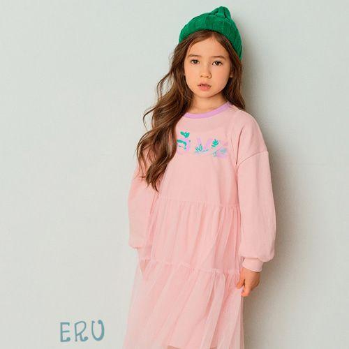 E.RU - BRAND - Korean Children Fashion - #Kfashion4kids - Love One-piece