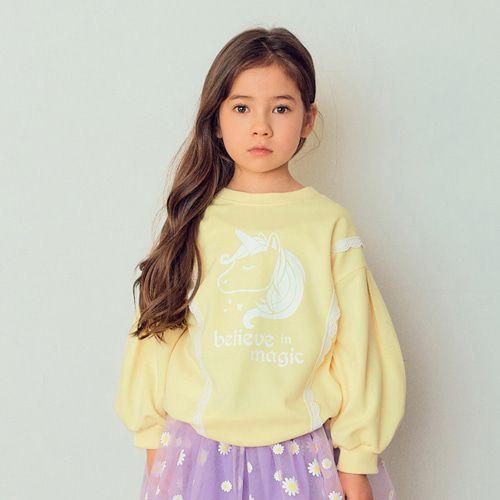 E.RU - BRAND - Korean Children Fashion - #Kfashion4kids - Res Unicorn Tee